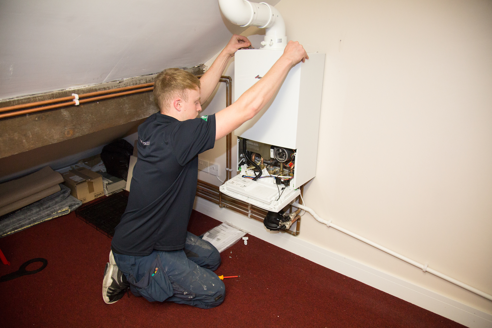 Boiler Installer in Wrightington