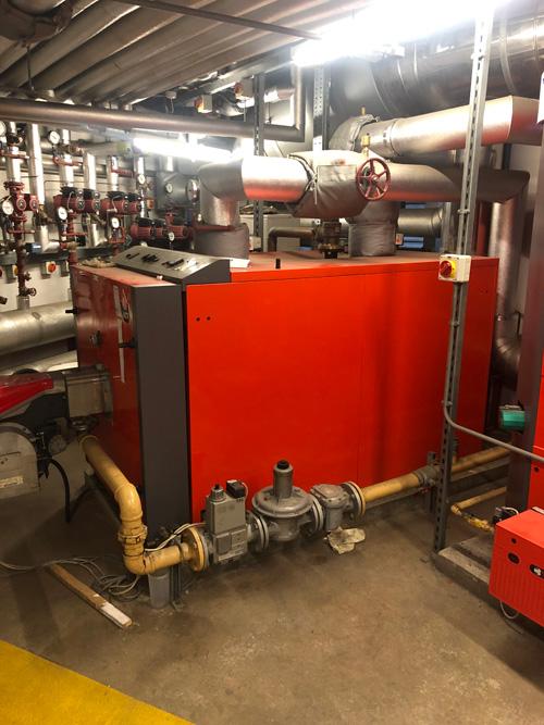 central heating repairs in Aspull